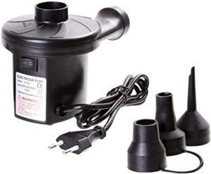 pompe électrique avec différents embouts
