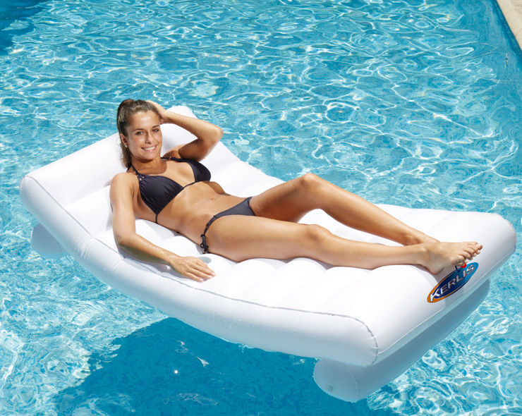 Matelas gonflable piscine de marque Kerlis