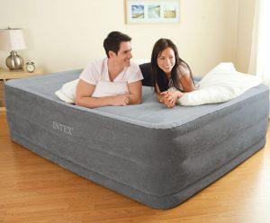 lit gonflable comfort plush 2 personnes installation